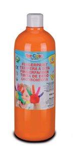 Prstová barva Toy Color - 1000 ml - oranžová