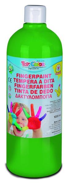 Prstová barva Toy Color - 1000 ml - zelená