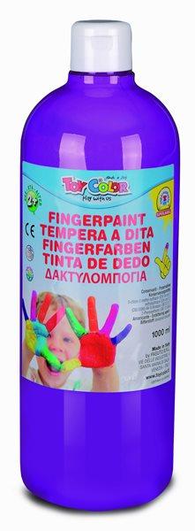 Prstová barva Toy Color - 1000 ml - fialová