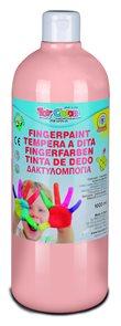 Prstová barva Toy Color - 1000 ml - tělová růžová