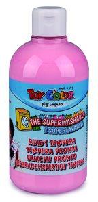 Temperová barva Toy Color - 500 ml - pastelová světle růžová