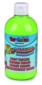 Temperová barva Toy Color - 500 ml - pastelová světle zelená
