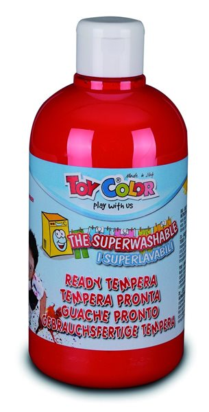 Temperová barva Toy Color - 500 ml - červená