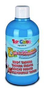 Temperová barva Toy Color - 500 ml - světle modrá