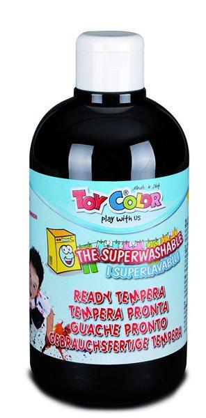 Temperová barva Toy Color - 500 ml - černá