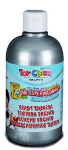 Temperová barva Toy Color - 500 ml - stříbrná