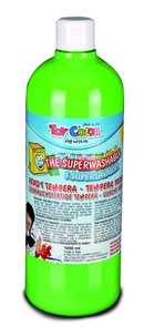 Temperová barva Toy Color - 1000 ml - světle zelená
