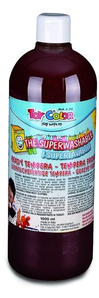 Temperová barva Toy Color - 1000 ml - hnědá