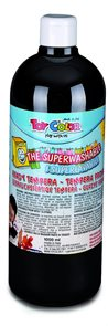 Temperová barva Toy Color - 1000 ml - černá