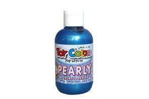 Temperová barva Toy Color - 250 ml - perleťová modrá