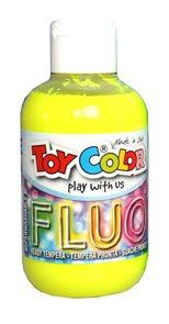 Temperová barva Toy Color - 250 ml - FLUO žlutá