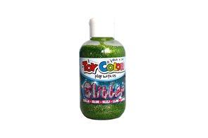 Magická glitrová barva - 250 ml - zelená