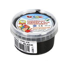 Prstová barva TOY COLOR - 180 ml - barva černá