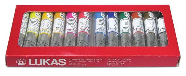 Sada olejových barev LUKAS Studio - 12 x 20 ml