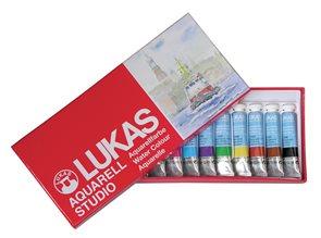 Sada akvarelových barev v tubách - 12 x 12 ml