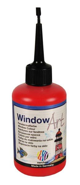 Barva na sklo Nerchau 80 ml - červená