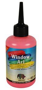 Barva na sklo Nerchau 80 ml - neonově červená