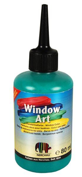 Barva na sklo Nerchau 80 ml - zelený glitr