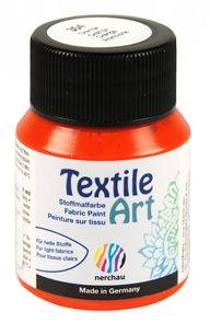 Barva na textil Nerchau - Textile Art - 59 ml - oranžová