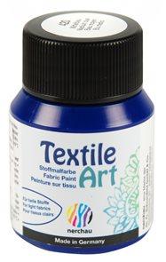 Barva na textil Nerchau - Textile Art - 59 ml - modrá