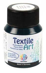 Barva na textil Nerchau - Textile Art - 59 ml - tmavě zelená