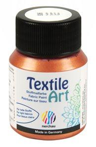 Barva na textil Nerchau - Textile Art - 59 ml - měděná