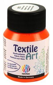 Barva na textil Nerchau - Textile Art - 59 ml - brilantní oranžová