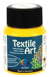 Barva na textil Nerchau - Textile Art - 59 ml - žlutá