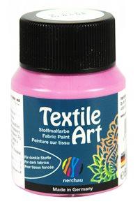 Barva na textil Nerchau - Textile Art - 59 ml - růžová