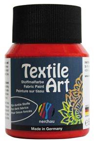 Barva na textil Nerchau - Textile Art - 59 ml - červená