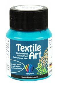 Barva na tmavý textil Nerchau, 59 ml - tyrkysová