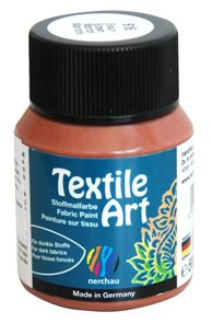 Barva na textil Nerchau - Textile Art - 59 ml - hnědá
