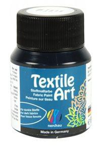 Barva na textil Nerchau - Textile Art - 59 ml - černá