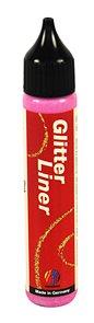 Glitter liner 28 ml - růžová