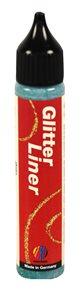 Glitter liner 28 ml - zelená