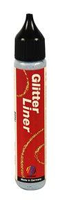 Glitter liner 28 ml - stříbrná