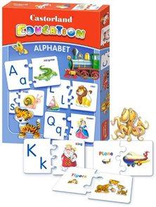 Puzzle vzdělávací - Anglická abeceda (64 dílků)