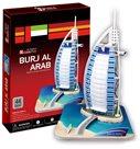 Puzzle 3D - prostorové - Burj Al Arab (44 dílků)