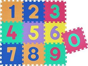 Pěnové puzzle - čísla, 30× 30 cm (10 ks)