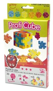 Hlavolam Profi Cube - 6 ks v krabičce
