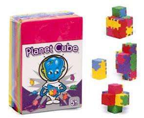 Hlavolamy Planet Cube - 6 ks (různé obtížnosti)