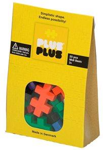 Kreativní stavebnice Plus Plus MAXI 20 ks, velikost dílku 5×3×1 cm