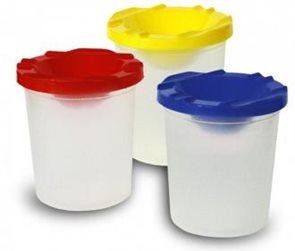 Bezpečnostní kelímek nevylévací - mix barev