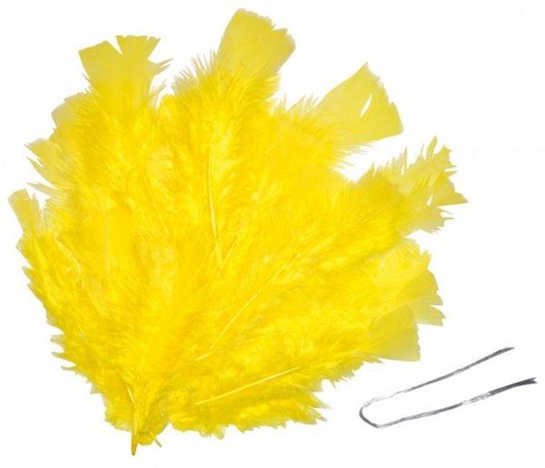 Peří - žluté
