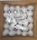 Polystyrenová vajíčka - 25 ks, 70 x 100 mm