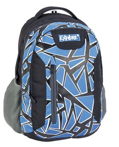Školní batoh EXPLORE - modrá