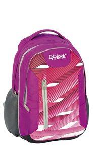 Školní batoh EXPLORE - Lightning stripes - růžový