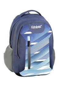 Školní batoh EXPLORE - Lightning stripes modrý