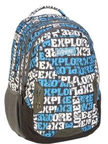 Školní batoh EXPLORE - modrý