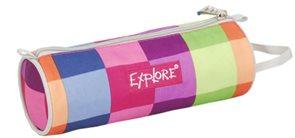 Školní pouzdro Explore - barevné